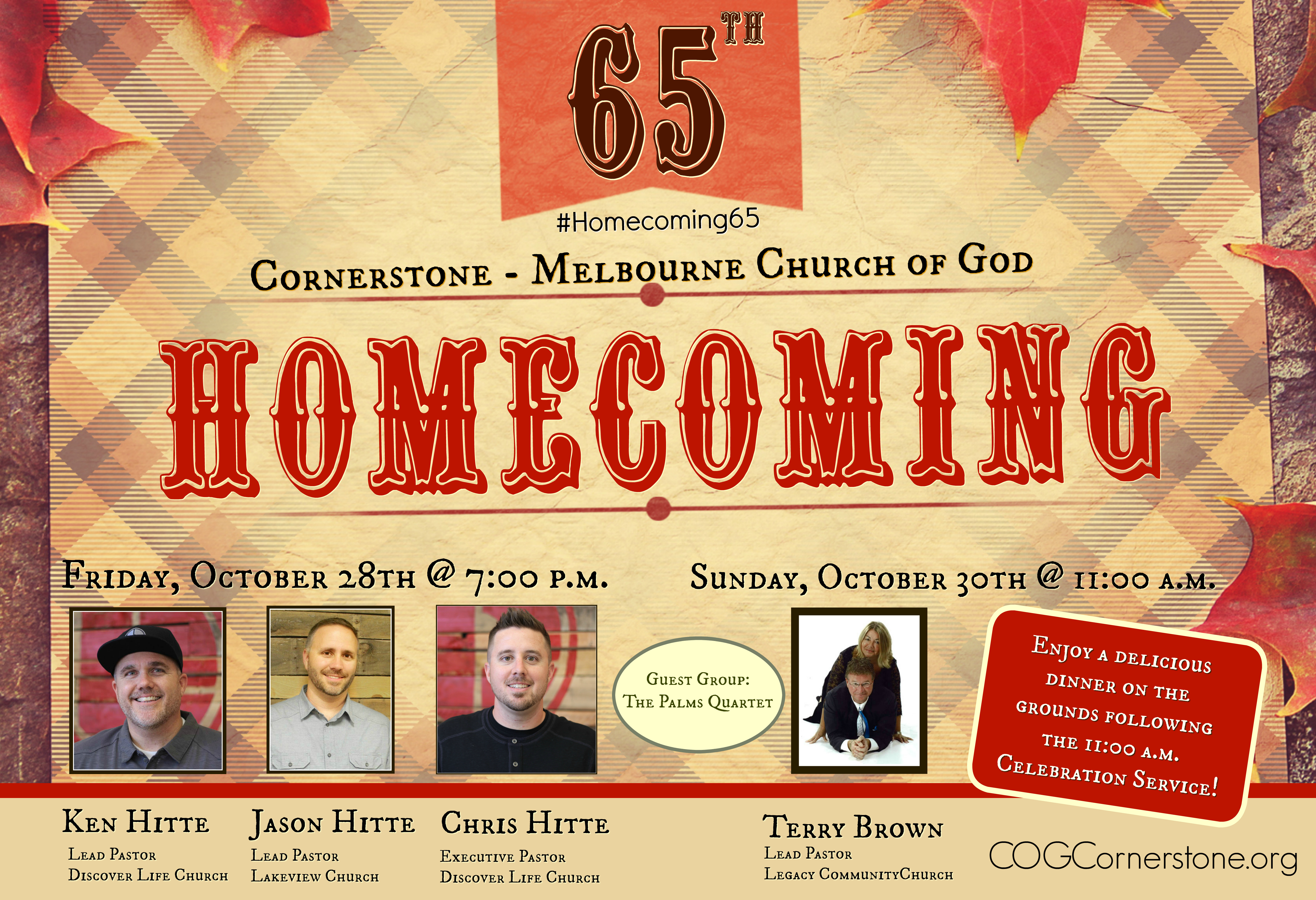 65th Homecoming Facebook Event